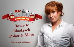 A K Casino Knights Advert Kate shirt copy