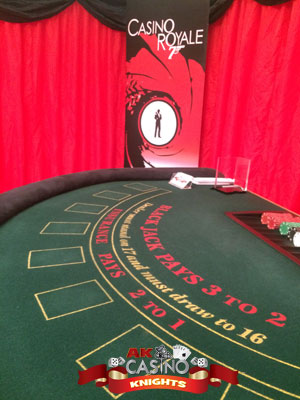 Casino Bond theme hire