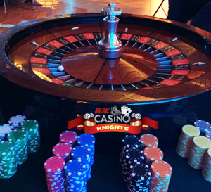 Casino Wheel and chips