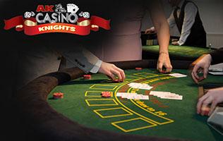 blackjack knights casino party hire
