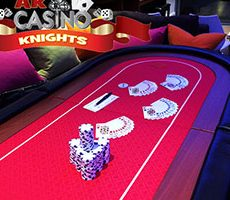 Hire Texas Holdem Poker at A K Casino Knights