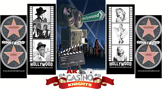 A K Casino Knights Hollywood themed evenings