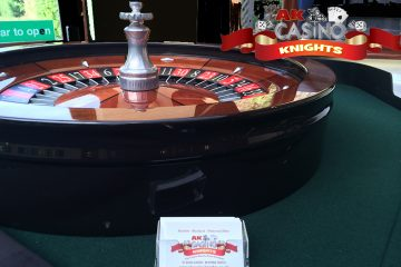 A K Casino Knights Wedding roulette rowhill grange
