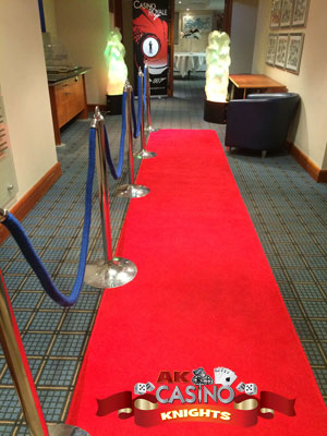 A-K-Casino-Knights-red-carpet-and-themeing