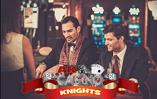 Hire oyr james bond theme packages at a K Casino Knights