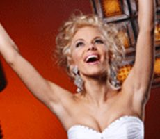 Essex wedding hire happy bride