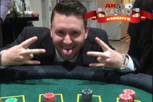 A K Casino Knights, fun casino nights Kent at Hayne Barn house in Kent