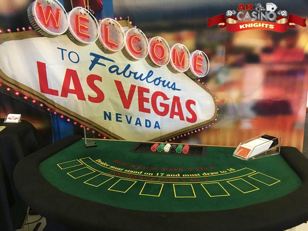 Fun casino hire at Detling Showground Kent